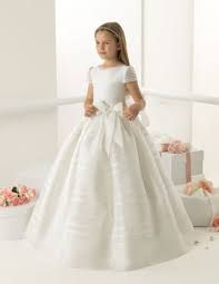 Online Shop 2015 first communion dresses with organza cap sleeve ball gown bow flower girls dresses vestido de comunion 2015 Girls Communion Dresses, Baptism Dress, Flower Girls, Flower Girl Dresses, Little Girl Dresses, Girls Dresses, Dresses 2014, Little Girl Fashion, First Communion