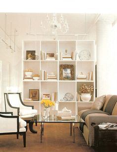 I would like to use something like this as a room divide for the girls bedroom.  interior design by mary mcdonald