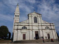 Igreja de Santa Eufemia-estilo barroco veneziano maior monumento cultural da cidade-Rovinj Croácia