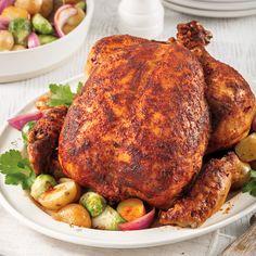 Cette recette a été développée et testée pour un autocuiseur de 6 litres. Les résultats peuvent varier selon la grosseur, la marque et le modèle de votre appareil. Veuillez vous référer à votre manuel d'instruction pour plus d'informations. Vinaigrette, Tandoori Chicken, Family Meals, Crockpot, Yummy Food, Yummy Recipes, Turkey, Cooking, Ethnic Recipes