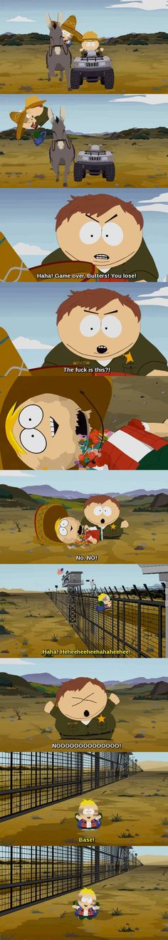 Butters and Eric South Park