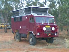 Land Rover Forward Control Adventure Camper