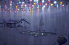 Brilliant Gloom, Michael Raedecker