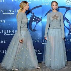#jenniferlawrence in #dior for the #passengers premiere or?