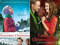 """""""November Christmas"""" p. ET): Get out the tissues. A community rallies together to bring Christmas early for a couple whose daughter is sick. Starring John Corbett, Karen Allen, Sam Elliott and Sarah Paulson. Christmas Star, Christmas 2014, Christmas Countdown, John Corbett, Sam Elliott, Star Wars, Hallmark Christmas Movies, Hallmark Channel, 8 Year Olds"""