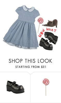 """Untitled #680"" by jaykitten123 ❤ liked on Polyvore featuring Demonia and KEEP ME"