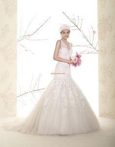 Scintillant & brillant Tulle Appliques Robes de mariée 2015