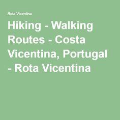 Hiking - Walking Routes - Costa Vicentina, Portugal - Rota Vicentina