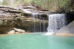 Justin P. Wilson Cumberland Trail State Park - Caryville, Tennessee = Possum Creek Falls, hiking trails