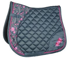 HKM Exclusive Flower Saddle Cloth available at Lofthouse Equestrian! the perfect numnah for your horse this summer! ONLY £45.00 each! #LofthouseEquestrian
