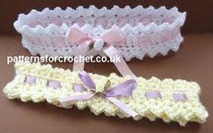 Free baby crochet pattern baby headbaby crochetband USA