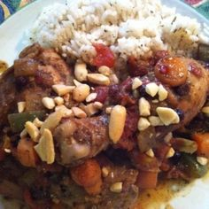 Your Inspiration At Home Moroccan Chicken Stew. #morocco #chicken #stew