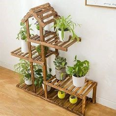 new ideas for outdoor furniture makeover easy diy Wooden Projects, Woodworking Projects Diy, Wood Crafts, Pallet Projects, House Plants Decor, Plant Decor, Deco Zen, Decoration Plante, Plant Shelves