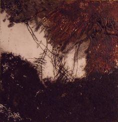 Sans titre nd-0012, 2010  Gravure au carborundum  Sylvie Thouron