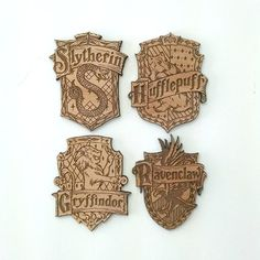 Harry Potter House Crest Magnets