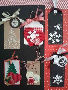 Tags - etiquetas Navidad