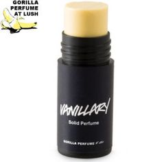 Lush Vanillary solid perfume It's my love, Not to mention me working for lush I can smell it whenever I work!