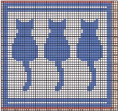Here I offer only the chart pattern for a potholder. I am assuming that you are familiar with the double-faced knitting technique. Knitted Washcloths, Knit Dishcloth, Easy Knitting Patterns, Knitting Charts, Crochet Cross, Crochet Chart, Cross Stitch Charts, Cross Stitch Patterns, Crochet Slipper Pattern