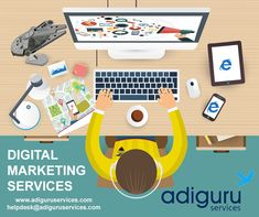 Are you looking for best digital marketing services? Adiguru services offers you the best and cost-effective digital marketing services for any kind of online business needs. Social Media Digital Marketing, Social Media Services, Online Marketing Services, Seo Services, Display Advertising, Competitor Analysis, Online Business, Channel, Branding