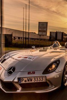 Visit The MACHINE Shop Café... ❤ The Best of Mercedes-Benz ❤ (Mercedes SLR 'Stirling Moss')