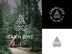 Cabin Love Logo Mock