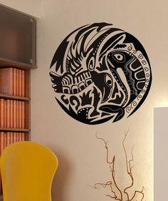 Vinyl Wall Decal Sticker Alaskan Fish and Bird #OS_DC152