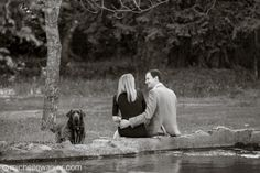 """Love that they're in """"fancy"""" clothes in a rustic setting. Michelle Walker Photography"""