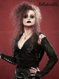 Bellatrix Black (Gothic Bellatrix Lestrange) - harry-potter Fan Art