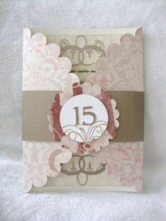 sweet15 invitation