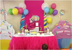 """Girly Candyland party!  Photo 1 of 13: Candy, Candyland, Candy Land / Birthday """"Candy Land Birthday Party"""" 