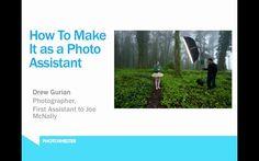 Cómo tiene que trabajar un asistente de fotógrafo?, nos lo cuenta en este documental online (How to Make It as a Photo Assistant by PhotoShelter.com). Drew Gurian,el primer asistene de McNally, que comparte sus experiencias con nosotros.