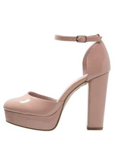 SWEET High Heel Sandalette oatmeal
