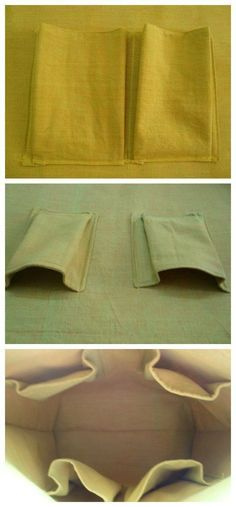Step by step tutorial for how to make roomy 3D pockets for the inside of your bags. I'll never make a flat pocket again!