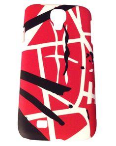 EVH Eddie Van Halen Classic Red Stripes Samsung Galaxy S4 Hardshell Snap On  Case Samsung Galaxy d7e6b678f113