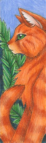 Squirrelflight Bookmark very cool print off you have