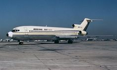 Boeing 727-200 prototype parked at LAX