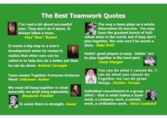 Teamwork Quotes by http://cuteinquotes.blogspot.com/2013/04/teamwork-quotes.html
