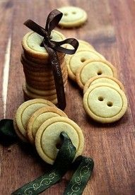 button cookies!! great little gift
