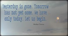 Inspiring Mother Teresa Quote