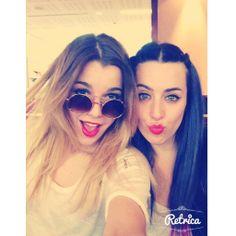 Otro selfie con la guapísima de Sonia ;)
