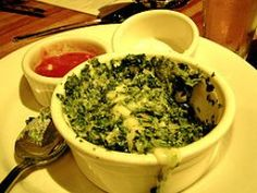 Houston's Spinach and Artichoke Dip - Houston is now called Hillstone. I had this there last week. So yummy!