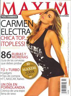 Carmen Electra for Maxim | #piclectica #CarmenElectra #Maxim