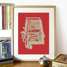 15.00$ - Alabama State Print Alabama Art Alabama Poster Alabama Print  #business #home #design #symbol #graphic #sign #color #icon #set #space #computer #house #black #window #paper #internet #communication #element #card #modern #hand #art #room #global #interior #3d #decoration #finance #estate