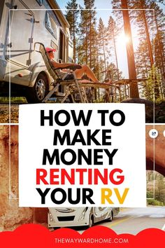 If you're not using your RV, it's a great time to try renting out your RV or campervan. Here's exactly how to rent your RV to make money during peak travel times. #RVing #RVliving #RVrentals Rv Travel, Travel Tips, Outdoor Travel, Budget Travel, Camper Rental, Rental Homes, Camper Van, Rent A Campervan, How To Find Out