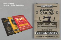 Opening Shop Flyer & Poster Template - Flyers - 5