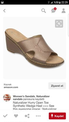 Comfortable Sandals, Wedge Heels, Open Toe, Slippers, Slip On, Wedges, Shoes, Collection, Women