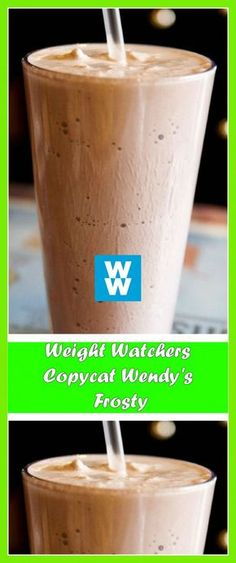 Weight Watchers Copycat Wendy's Frosty Weight Watcher Desserts, Weight Watchers Snacks, Weight Watchers Smoothies, Weight Watchers Smart Points, Weight Watcher Dinners, Skinny Recipes, Ww Recipes, Recipies, Healthy Recipes