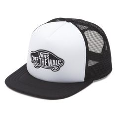 66ef01bda4e The Classic Patch Trucker Hat is a polyester mesh back adjustable trucker  hat with a Vans Off The Wall logo patch.