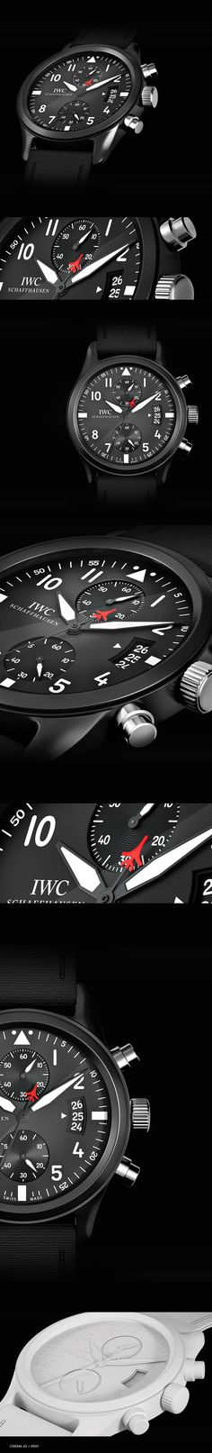 3D IWC Watch on Behance