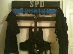 A few tweaks for his duty belt but I like it